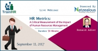 HR Metrics: A Critical Measurement of the Impact of Human Resources Management