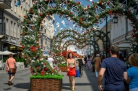 Landscape design competition, Moscow Candy and best summer workshops at Moscow Summer. Flower Jam Festival in Russia's capital