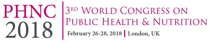 3rd World Congress on Public Health and Nutrition, London, United Kingdom