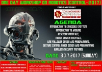 One Day Workshop on Robotics (Control - 2017)