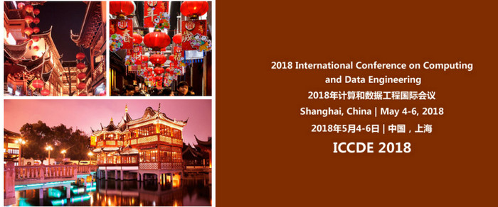 ACM - 2018 International Conference on Computing and Data Engineering (ICCDE 2018), Shanghai, China