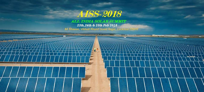 All India Solar Summit-2018, Lucknow, Uttar Pradesh, India