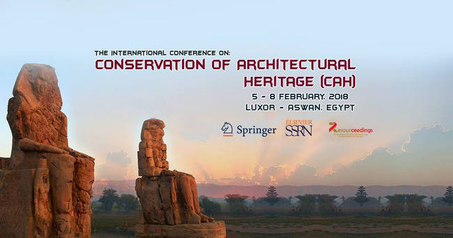 The 2nd international conference on Conservation of Architecture Heritage, Luxor & Aswan, Luxor, Egypt