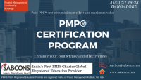 PMP® Certification program