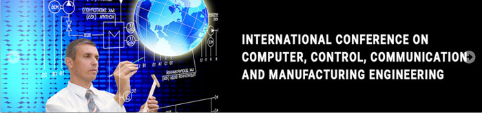 6th International Conference on Computer, Control, Communication and Manufacturing Engineering (CCCME-17), Paris, France