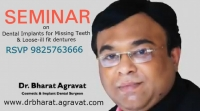 Public Seminar on Dental implants for Missing Teeth & Loose ill Fitting Denture