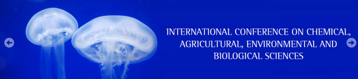6th PARIS International Conference on Chemical, Agricultural, Environmental and Biological Sciences (CAEBS-2017), Paris, France