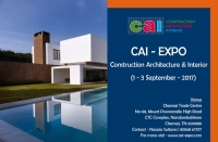 CAI-Expo – Construction Architecture Interior Expo – 2017