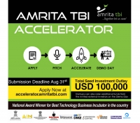 Amrita TBI Accelerator