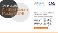 Agile Methods-CSM Training Workshop by QAI USA
