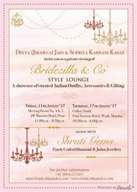 Bridezilla&Co x Shruti Gems Style Lounge