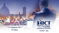 International Conference ICT for Language Learning - 10th edition
