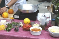 Farmers Market Food Demo
