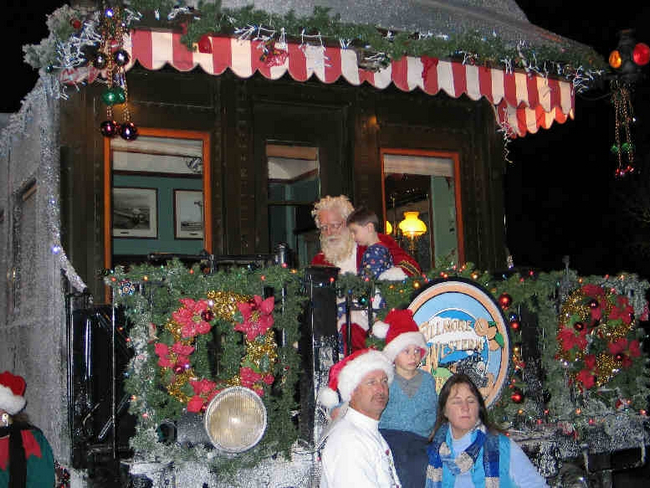 North Pole Express Train Ride, Ventura, California, United States