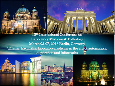 13th International Conference on Laboratory Medicine and Pathology 2018, Berlin, Germany