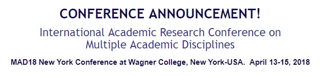 International Academic Research Conference on Multiple Academic Disciplines, New York, United States