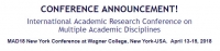 International Academic Research Conference on Multiple Academic Disciplines