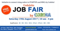 CodeJobs Job Fair By Codekul
