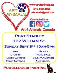 Art 4 Animals in Port Stanley