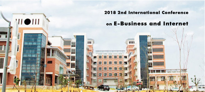 2018 2nd International Conference on E-Business and Internet (ICEBI 2018), Taipei, Taiwan