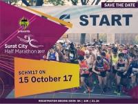Surat City Half Marathon (SCHM'17)