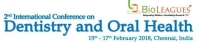 2nd International Conference on Dentistry and Oral Health
