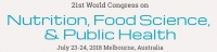 21st World Congress on Nutrition, Food Science,  & Public Health