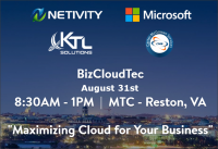 Microsoft Event BizCloudTec Maximizing Cloud for Your Business