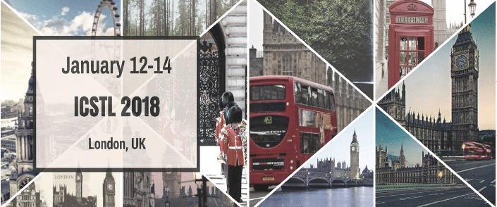 2018 International Conference on e-Society, e-Learning and e-Technologies (ICSLT 2018), London, United Kingdom