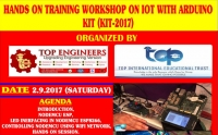 Hands on Training Workshop on IOT with ARDUINO Kit (KIT-2017)