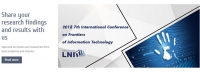 2018 7th International Conference on Frontiers of Information Technology (ICFIT 2018)--EI Compendex, Scopus