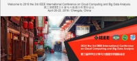 2018 the 3rd IEEE International Conference on Cloud Computing and Big Data Analysis (ICCCBDA 2018)+ Ei Compendex and Scopus