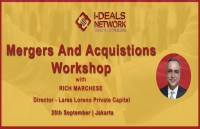 Mergers And Acquisitions workshop - 25th September | Jakarta