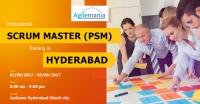 Professional Scrum Master (PSM) Training in Hyderabad