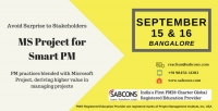 MS Project Training for Smart PM