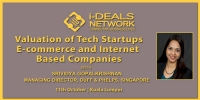 Valuation of Tech Startups, E-Commerce and Internet based companies – 11th October   Kuala Lumpur