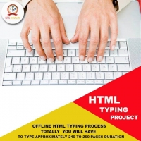 Nts Infotech HTML Typing Project