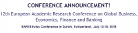 12th European Academic Research Conference on Global Business,  Economics, Finance and Banking