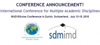 MAD18Swiss International Conference for Multiple Academic Disciplines
