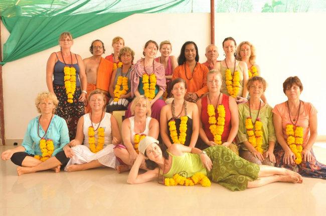 YTT in Goa at Yoga Dhyan, Goa, India