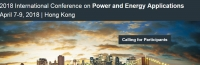 2018 International Conference on Power and Energy Applications (ICPEA 2018)