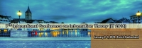 7th International Conference on Information Theory (IT 2018)