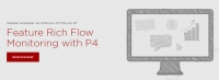 Feature Rich Flow Monitoring with P4