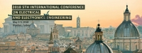 2018 5th International Conference on Electrical and Electronics Engineering (ICEEE 2018)