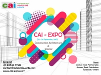 CAI-Expo – Construction Architecture Interior Expo Coimbatore – 2017