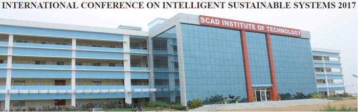 IEEE-International Conference on Intelligent Sustainable Systems (ICISS-2017), Tirupur, Tamil Nadu, India