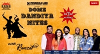 Dome@NSCI announces 7 days of Dome Dandiya Nites with Ramzat Group
