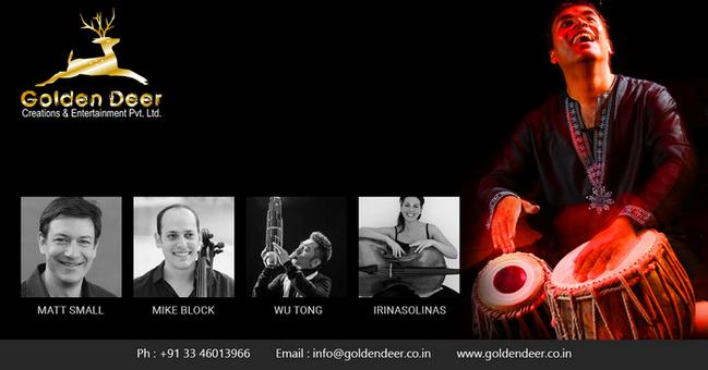 Live Music Performance by Grammy Award Winner Sandeep Das, Kolkata, West Bengal, India