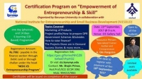 "Certification Program on ""Empowerment of Entrepreneurship & Skill"""