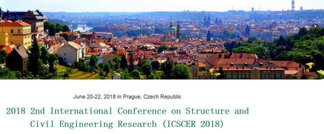 2018 2nd International Conference on Structure and Civil Engineering Research (ICSCER 2018), Prague, Czech Republic
